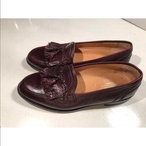 Johnston and Murphy Cellini loafers 9 Italy brown